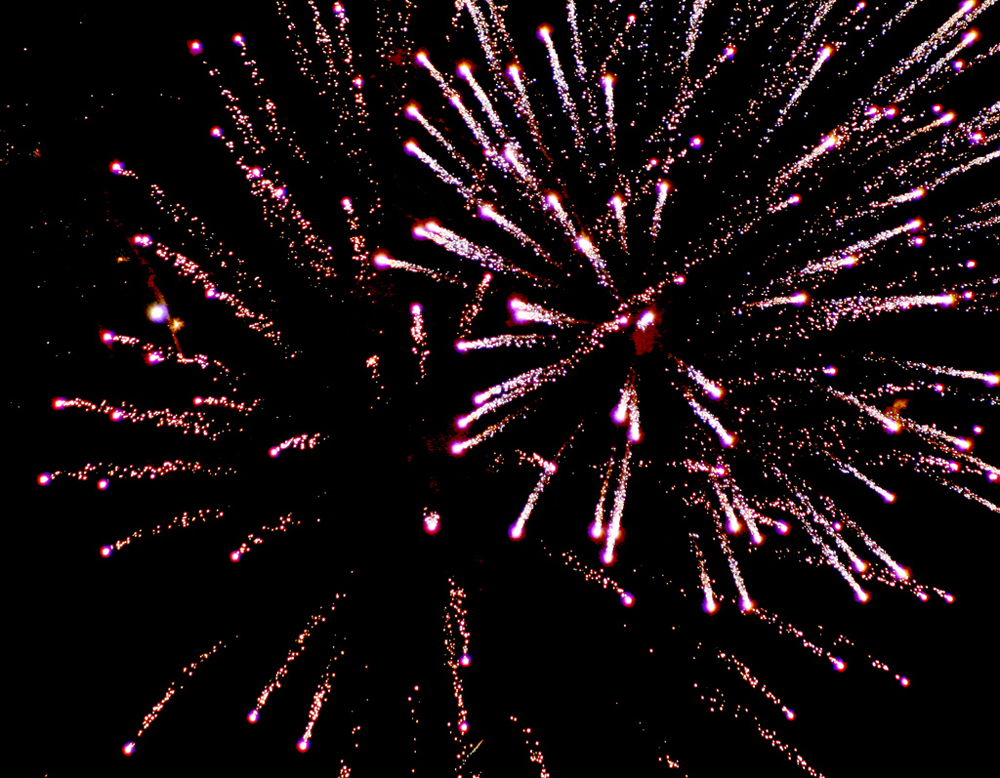 Fireworks Animation With Sound Figure 1: when a firework