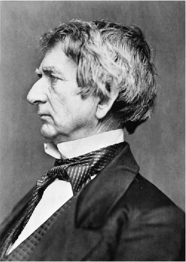 Portrait of Senator William Seward.