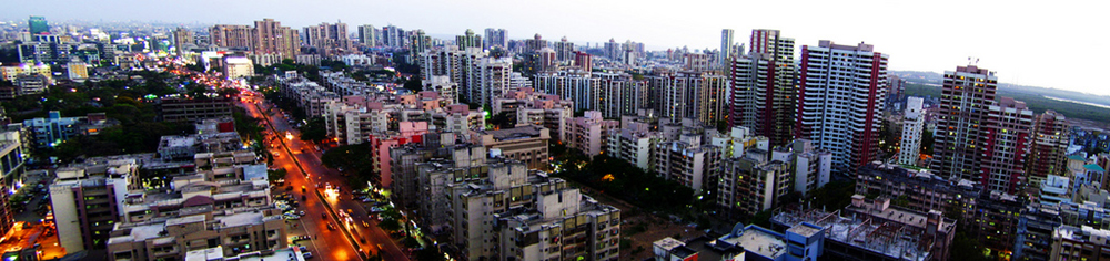 A city skyline is shown here.