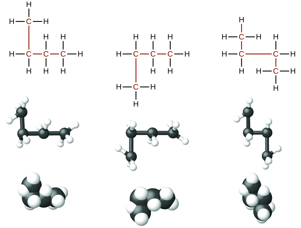 the structure of n-butane  N Pentane Lewis Structure