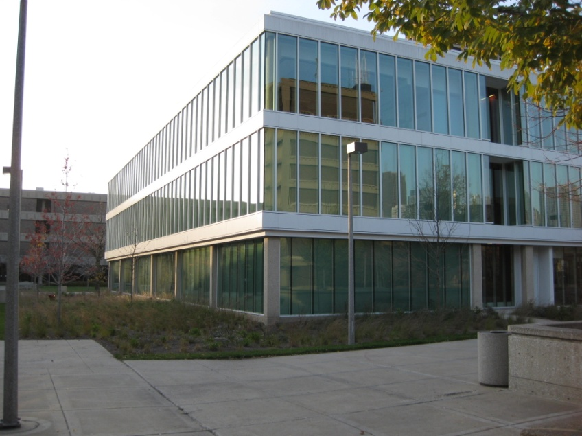 Lincoln Hall, LEED Gold Certified, University of Illinois at Chicago