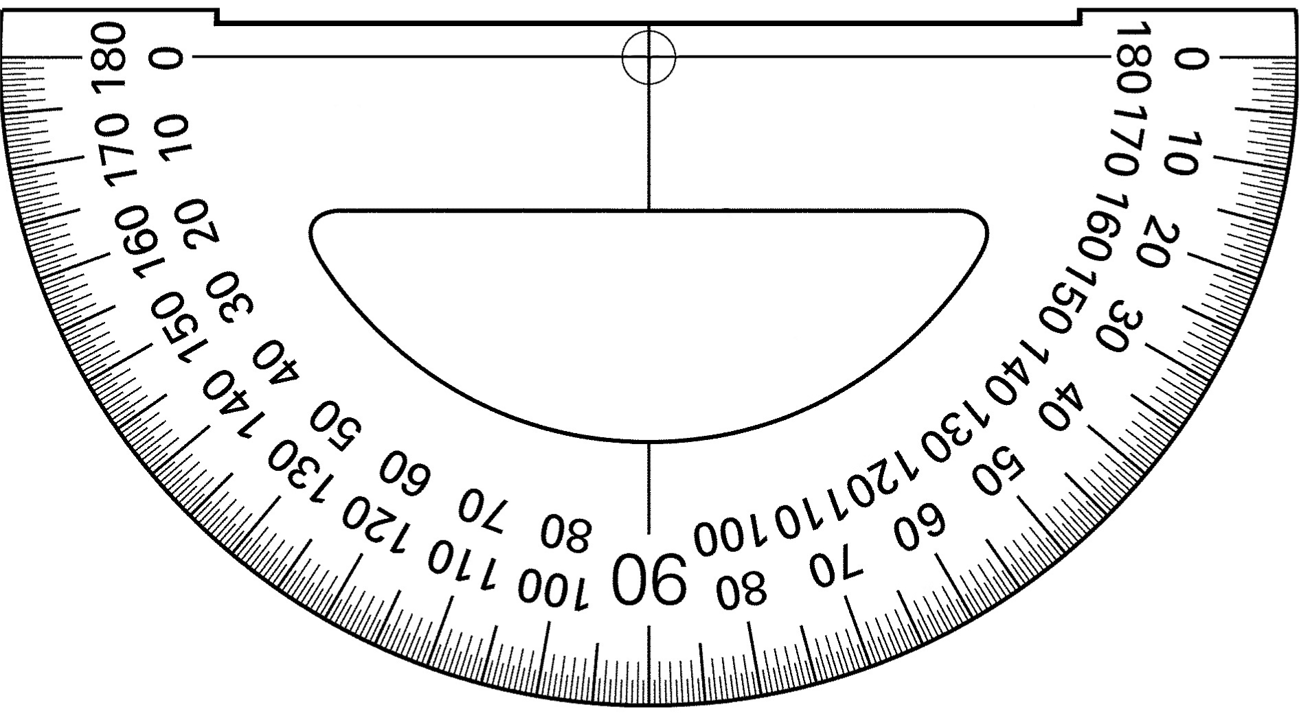 worksheet Protractor Print similiar printable protractor template keywords displaying 16 images for degrees