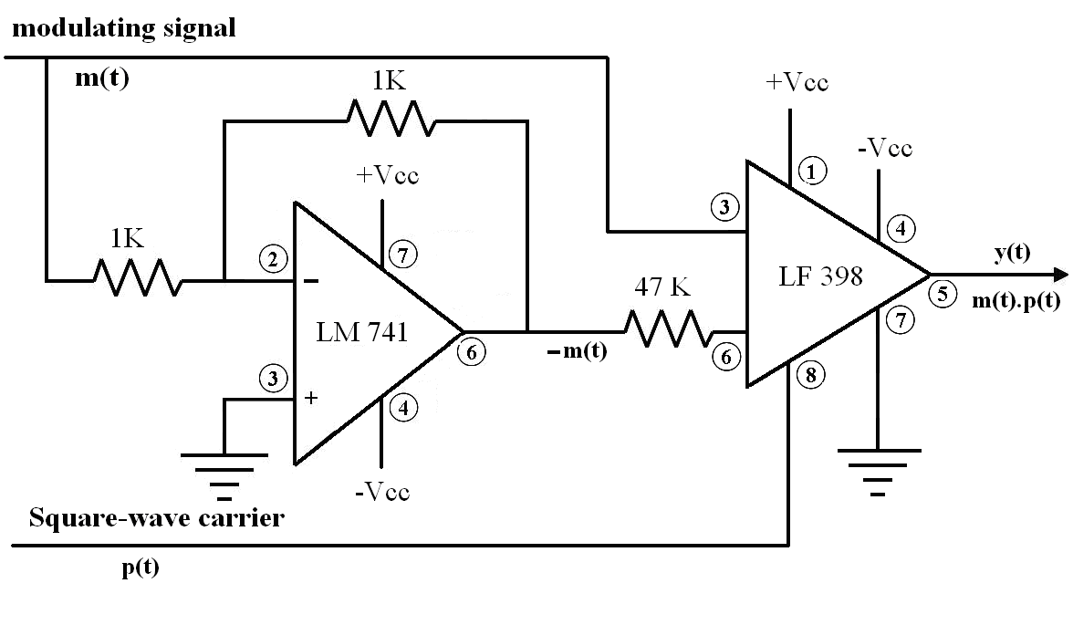 Block Diagram 741 Electronicswiring Introduction To Operational Amplifier Tutorial Electronic Laboratory Generation Of Ssb