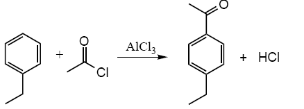 the friedel crafts reaction acetylation of ferrocene The friedel-crafts reaction: acetylation of ferrocene ferrocene was acetylated in acetic anhydride and phosphoric acid it proceeded via a friedel-crafts reaction without the use of organic solvents or strong lewis acid.