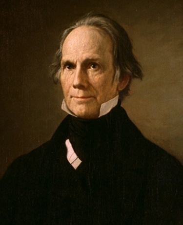 Portrait of Henry Clay.