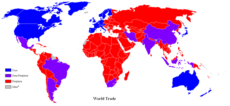 Trade Map, Late 20th Century