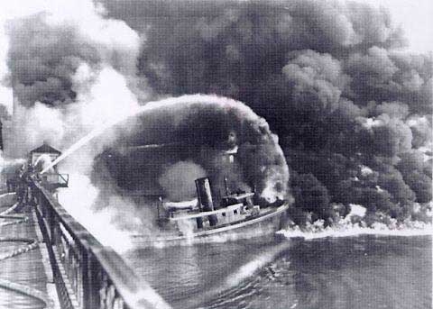 Cuyahoga River Fire, 1969