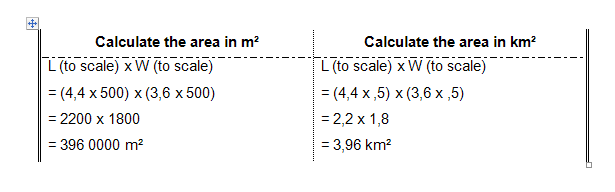 Calculating area oo a map - Geography Grade 9 - OpenStax CNX