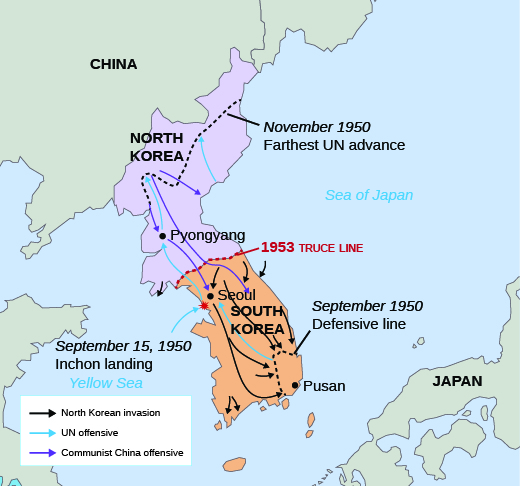 94 the cold war canadian history post confederation cnx history korea map sciox Image collections