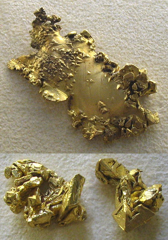 photograph of native gold