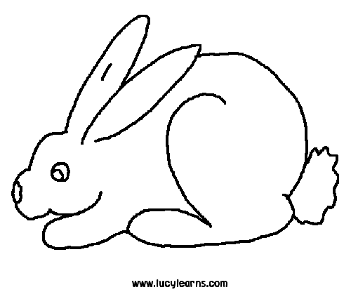 Hare Line Drawings The Hare And The Tortoise