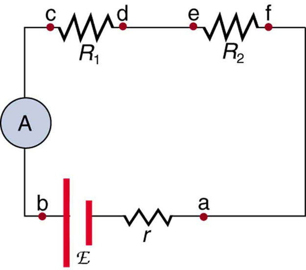 Voltmeter Circuit Symbol. Using Dpdt Cross Wired Alternating Relays ...