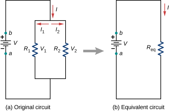 6 2 resistors in series and parallel  u2013 introduction to electricity  magnetism  and circuits