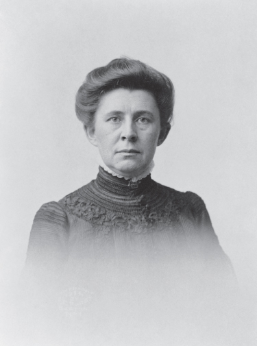 Portrait of Ida M. Tarbell.