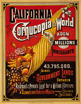 California, the Cornucopia of the World