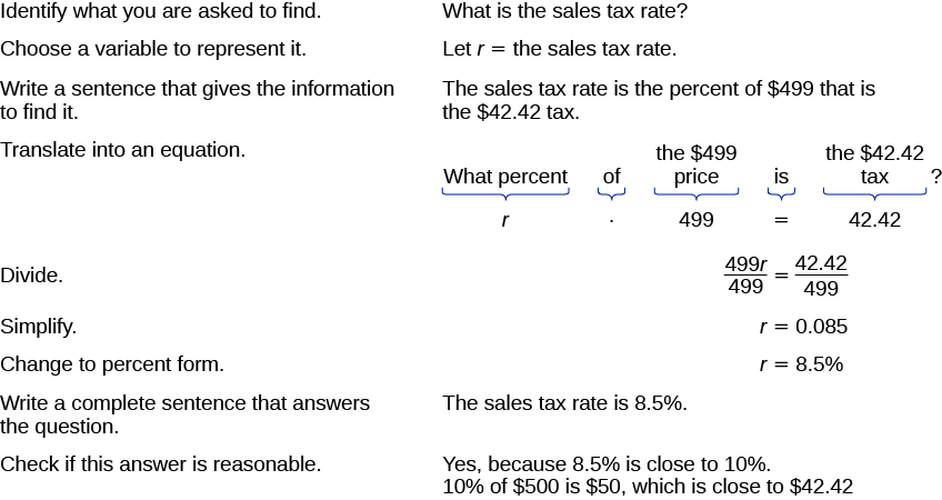 How To Figure Out Sales Tax >> Solve Sales Tax Commission And Discount Applications