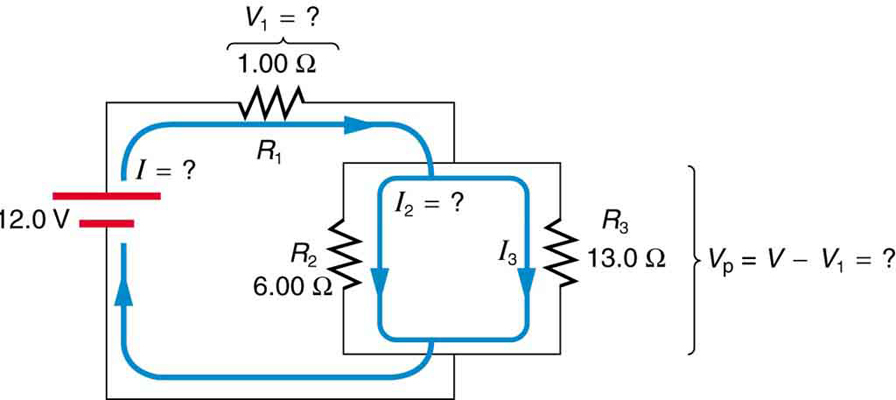 resistors in series and parallel Series And Parallel Circuits Diagrams circuit diagram in which a battery of twelve point zero volts is connected to a combination series and parallel circuits diagrams