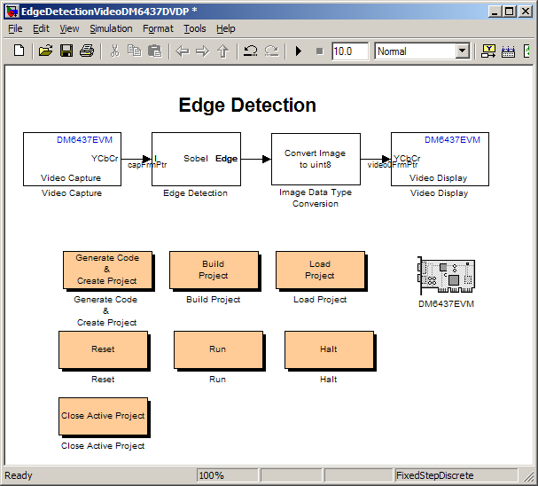 Edge Detection - From MATLAB and Simulink to Real-Time with TI DSP's