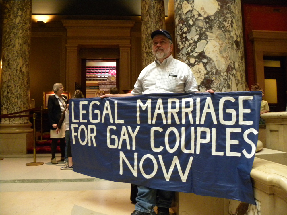 Figure 13 02 04 Figure 4: As same sex marriage becomes a possibility, many gay and lesbian ...
