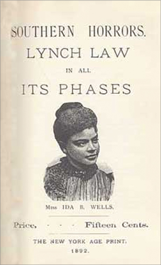 The front page of a pamphlet titled