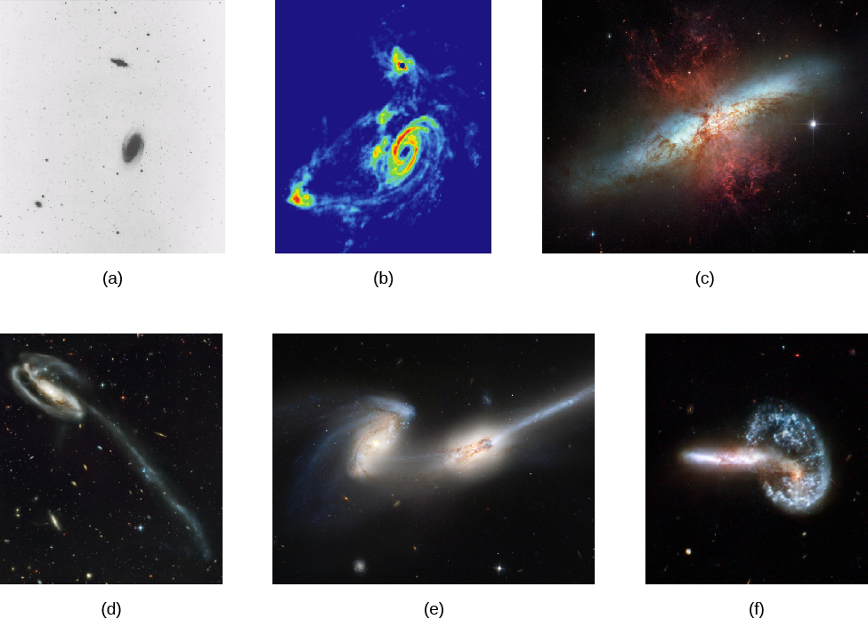 Colliding galaxies simulation dating