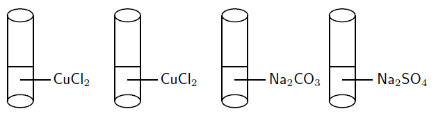 reactions in acqueous solutions test