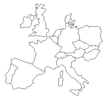 Western on Address Can Span The Area Of Most Of Western Europe 1123314 Sq Mi