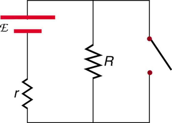 electric circuits - potential difference in a wire with no current